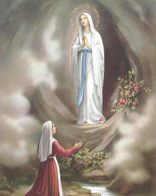 Imagens de Nossa Senhora. Gruta-de-lourdes-1