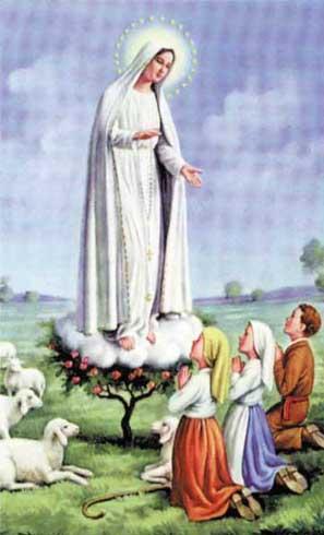 Oração a Nossa Senhora de Fatima