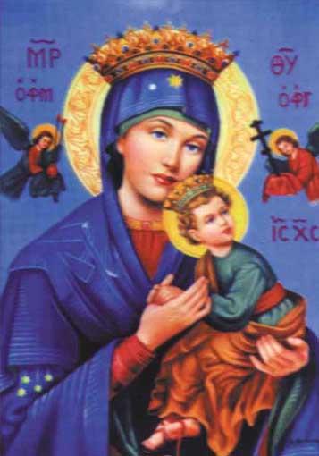 Oração a Nossa Senhora do Perpetuo Socorro