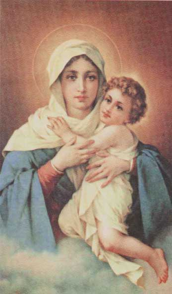Oração a Nossa Senhora Mãe, Rainha e Vencedora